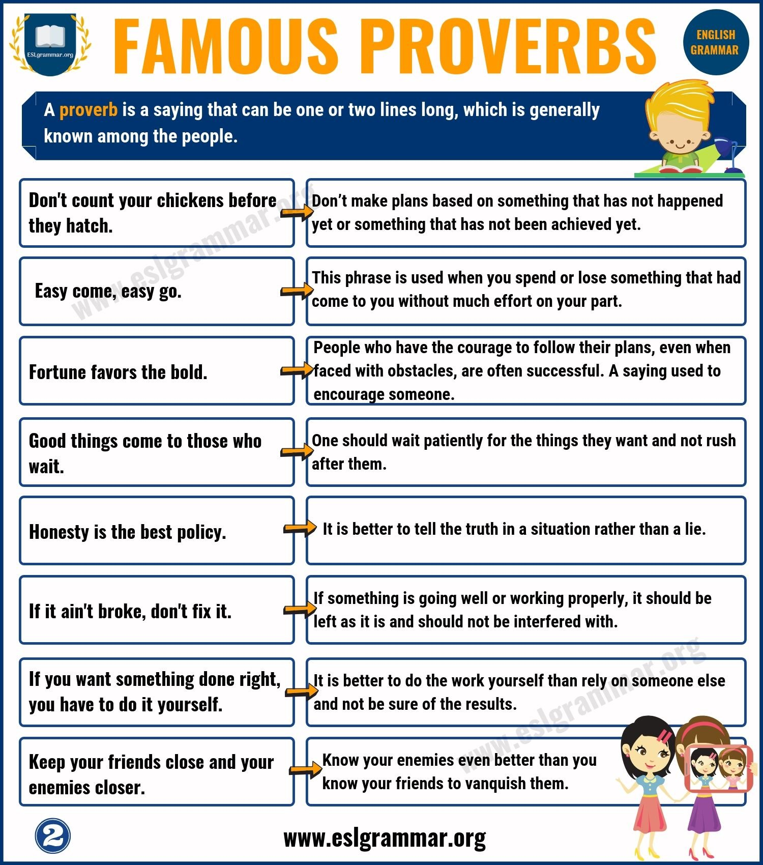 Famous Proverbs