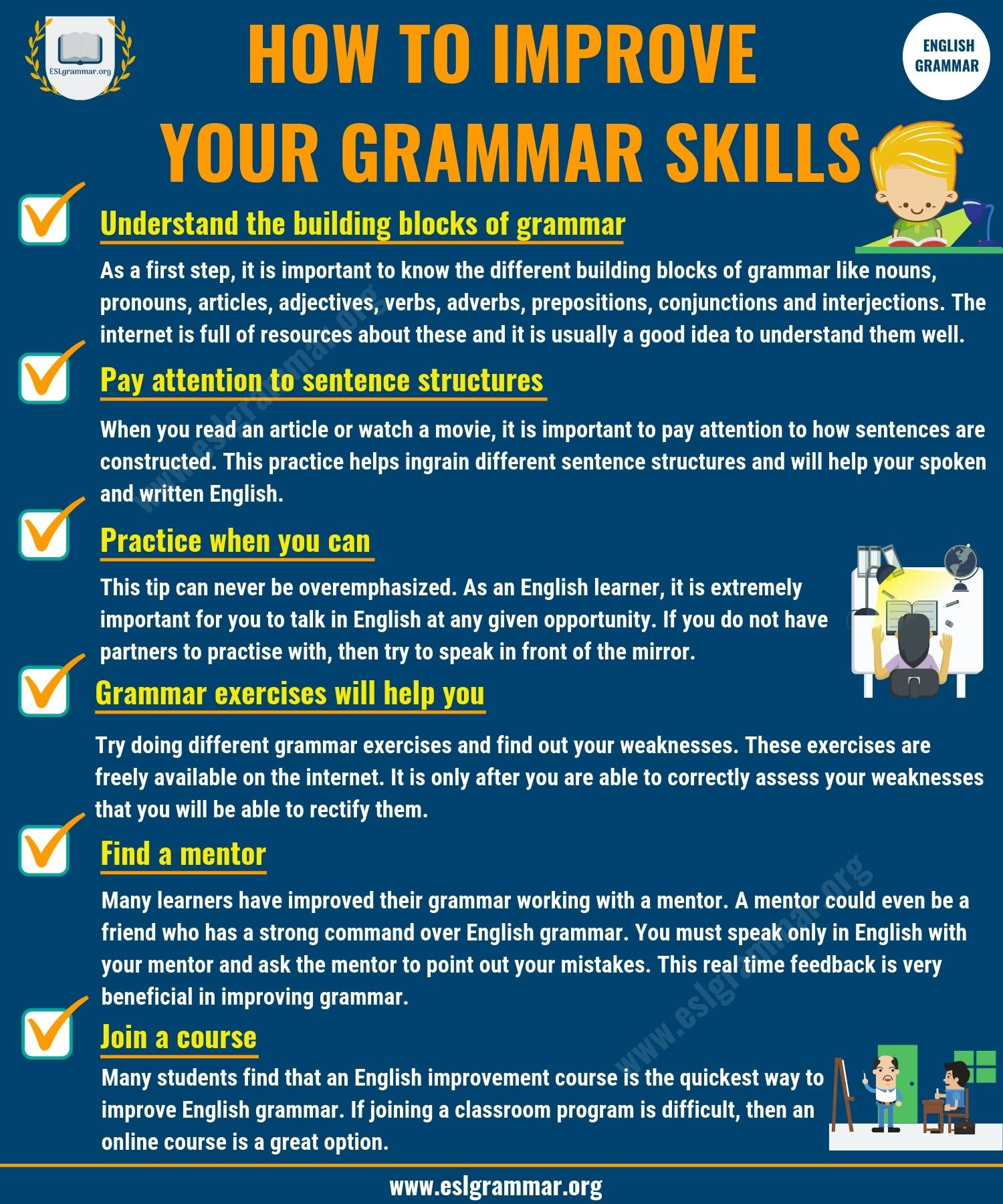 Learn English Grammar | Online Grammar Lessons
