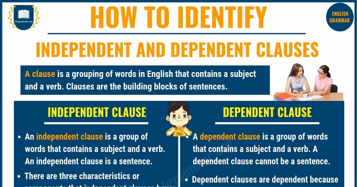 Independent and Dependent Clauses | Definition, Usage & Useful Examples 5