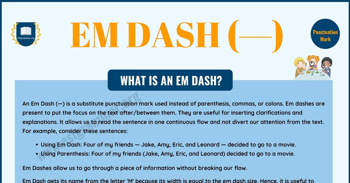 Em Dash vs En Dash vs Hyphen: How to Correctly Use Them 1