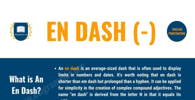 When & How to Use En Dash Properly with Useful Examples 1