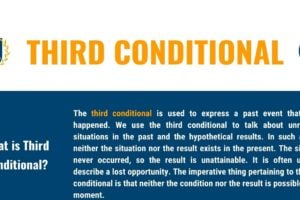 Third Conditional: Definition, Useful Rules with Examples 12