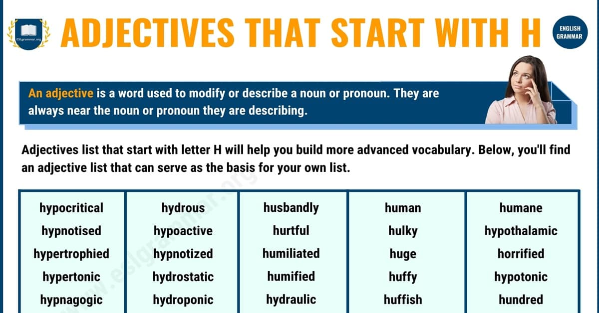 Remarkable Adjectives that Start with H with Examples 1