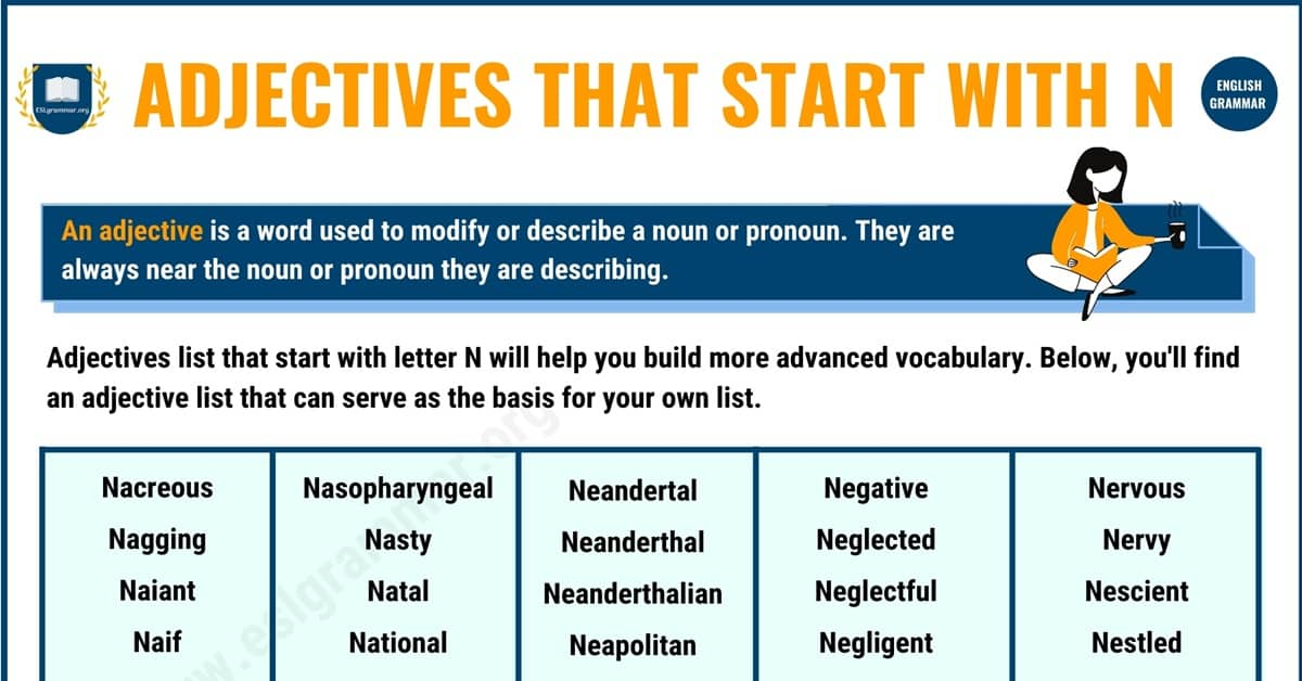 600+ Remarkable Adjectives that Start with N in English 1