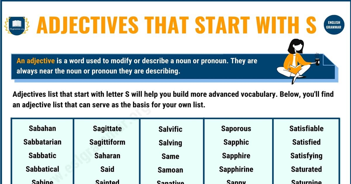 1500+ Extraordinary Adjectives that Start with S 1